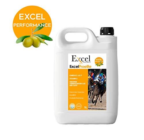 Excel Supplements Europe Excel ProElite | Öl für Pferde | Entzündungshemmend 5-liter | Antioxidantien | Natürlich entzündungshemmend | Muskelaufbau