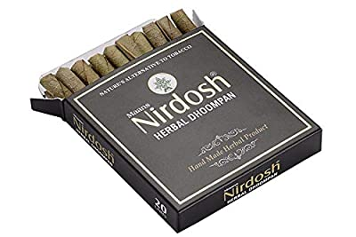 New Unfiltered Nirdosh Tobacco Free Herbal Cigarettes - 20/Pack! (1) by Maans Products