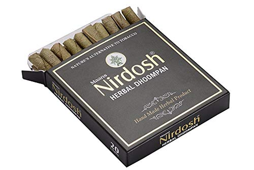 NEW Unfiltered Nirdosh Tobacco FREE Herbal Cigarettes - 20/pack! (1)