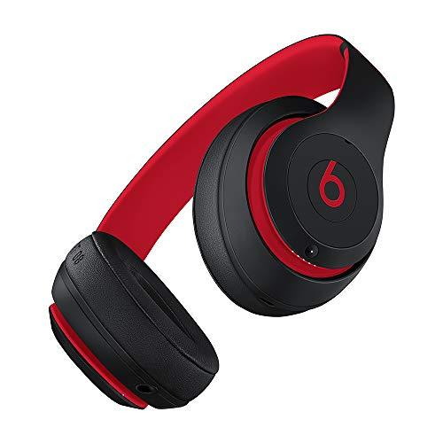 BeatsStudio3Wireless con cancelación de ruido - Auriculares supraaurales - Chip Apple W1, Bluetooth de Clase1, 22horas de sonido ininterrumpido - Rojo (Defiant Black-Red)