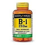 Mason Vitamins B-1 250Mg Thiamine Tablets,...