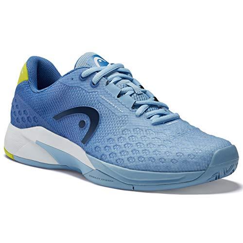 Head Revolt Pro 3.0 Zapatillas de Tenis para Mujer, Mujer, Azul Claro(Light Blue)/Amarillo(Yellow), 41 EU