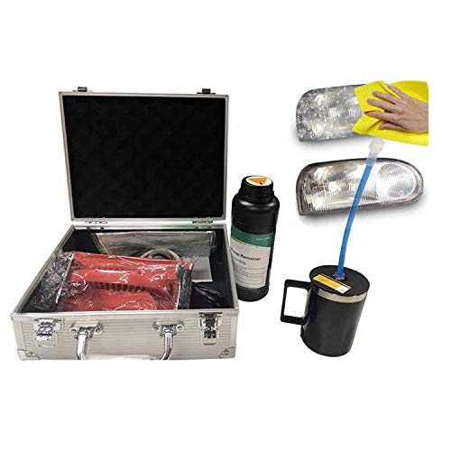 Headlamp Restore Kit Professional Car Automobile Vapor Tool Coating UV Block Repair Sun Damaged Headlight Restoration Case Kit