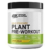 Optimum Nutrition Gold Standard Plant Pre-workout, Pre Workout Vegano en Polvo con Cafeína, Limonada, 30 Porciones, 240 g