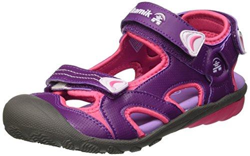 Kamik Kamik BELUGA, Unisex-Kinder Geschlossene Sandalen, Violett (PURPLE/PU3), 35 EU(2.5 UK/3 US)