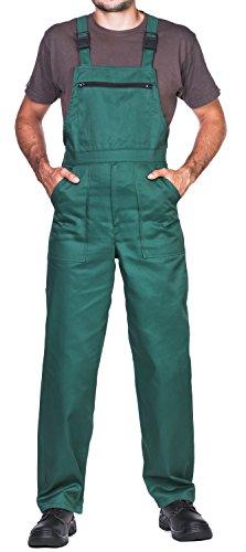 Pantalones con Peto de Trabajo para Hombre, Made in EU, Mono
