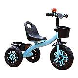 Triciclo Evolutivo Toral 2 en 1 Triciclo para niños con pedal, altura multifunción Bicicleta de entrenamiento al aire libre ajustable, para niños de 2 a 5 años, niñas, regalo de cumpleaños, bicicleta