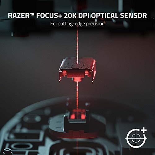Razer DeathAdder V2 Pro - Wireless Gaming Mouse (Kabellose Profi Maus mit 20K DPI Focus+ Sensor, Optische Maus-Switches, 70 Stunden Akku-Laufzeit, 3 Verbindungsmodi) Schwarz