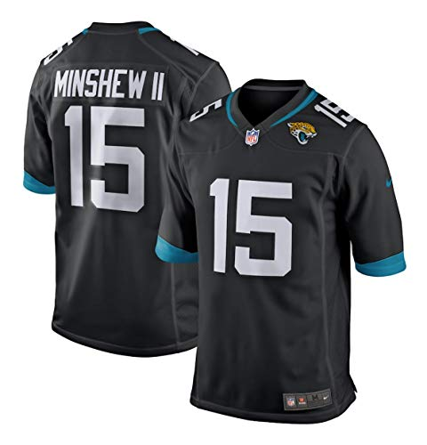 Nike Gardner Minshew II Jacksonville Jaguars Black Game Jersey - Men's XL (X-Large)