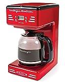 Nostalgia RCOF120 Retro 12-Cup Programmable Coffee Maker