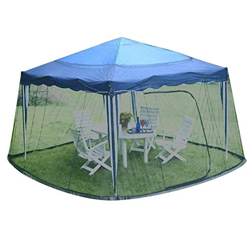 LYYJIAJU Outdoor Mosquito Net Tent Sunshade Mosquito Nets Outdoor Patio Anti-mosquito Nets Sunshade Net Cover Table Umbrella Anti-mosquito Net Cover (Color : B)