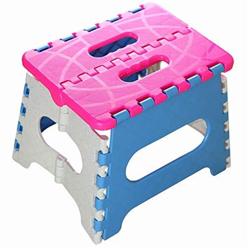 Miner Opvouwbare kruk Campingstoel Zitting om te vissen Handige plastic draagbare opstapkruk Home Train Outdoor Indoor opvouwbare stoel, blauw