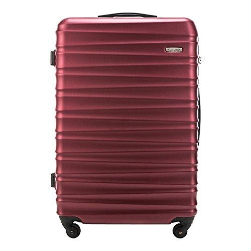 WITTCHEN Grande Maleta   Color: Rojo   Material: ABS   Dimensiones: 77...