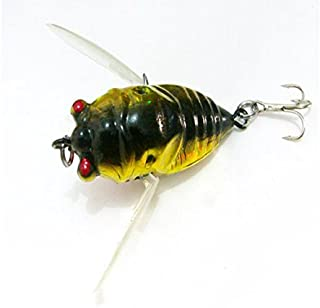 Fishing - Cicada Fishing Lures Lure Freshwater Bass Gear Tackle Jackall Pompadour Lake - For - 1PCs
