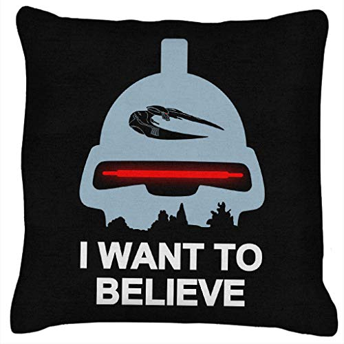 Believe In Toasters Battlestar Galactica Cushion
