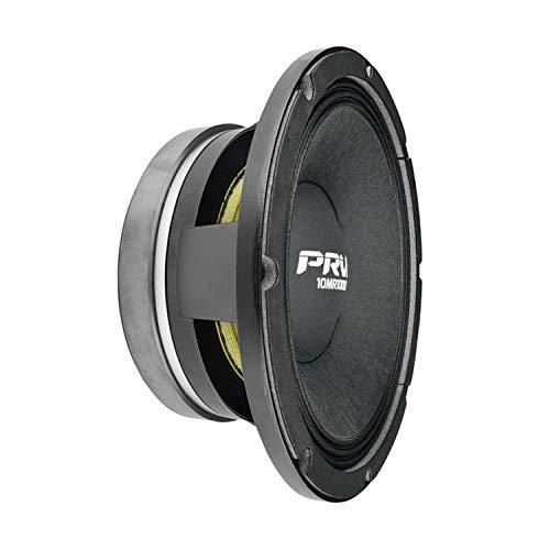 PRV AUDIO 10 Inch Midrange Speaker 10MR1000X, 1000 Watts Program Power, 3 in Voice Coil, 8 Ohm, 500 Watts RMS Pro Audio Loudspeaker (Single)