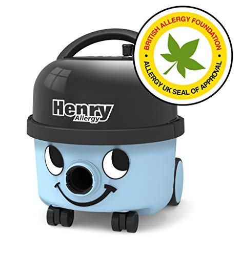 Numatic International Henry Allergy HVA160-11, Staubsauger, hellblau, 620 W, 72 Dezibel