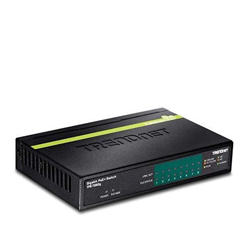 switch 8 puertos poe fabricante TRENDnet
