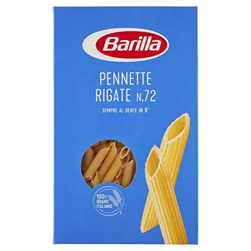 Barilla Pennette Rigate N.72, Cottura 10 Minuti, 500g
