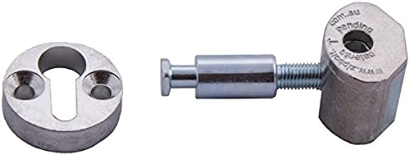 Zipbolt Slipfix Railbolt - Connects Staircase Handrail to Newel Post - 10 Bulk Pack - Includes 5mm Hex Bit with Quick Release Shank