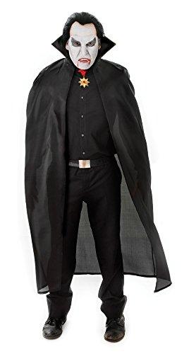 Bristol Novelty AC101 Cape en Polyester Dracula, Noir, 56-inch/Taille Unique