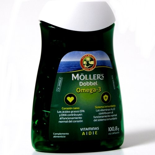 MOLLERS Dobebel omega-3, 112cápsulas de 600 mg