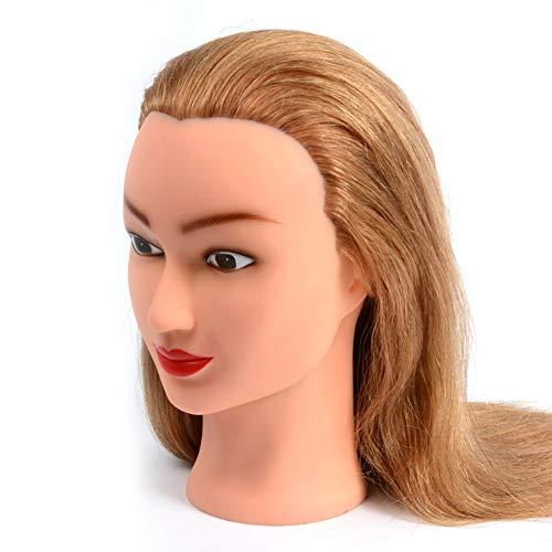 Brautmake-up, das Praxis-Modell-Friseursalon-Haarschnitt,Trainingsköpfe der blinden Kopf lernt, gefärbt und gebleicht werden kann, unterrichtender Kopf