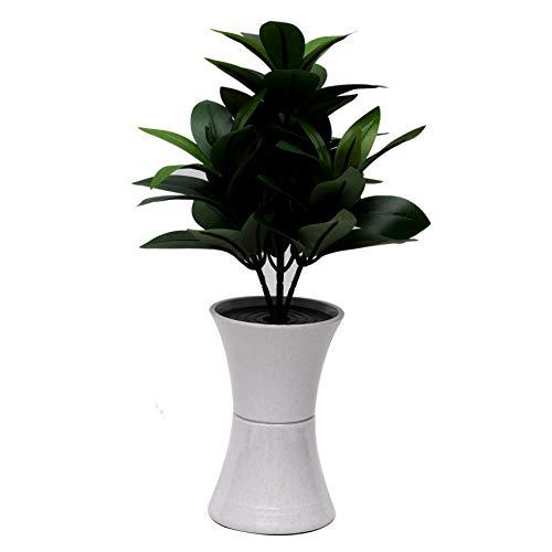 創価学会 花瓶付き シキビ しきみ 造花 全高約30cm コンパクト仏壇 ミニ仏壇に最適