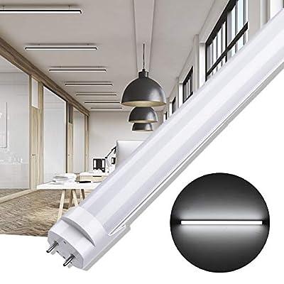 ACUMSTE T5 Florescent Light Bulb - 3 Color Modes Tube Light Fixture - 2FT Liner LED Ceiling Lights- 9W LED Strip Lights - Energy Save Shop Light