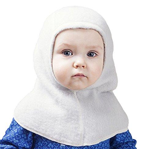 LANACare Baby Winter Hat, Merino Wool Balaclava...