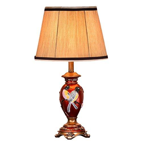 LRW bedlampje voor slaapkamer, Europese tafellamp, creatieve studio, woonkamerlamp