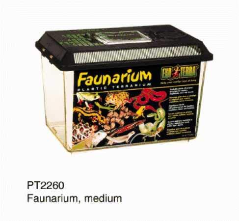 Exo Terra Faunarium mittel - Allzweckbehälter für Reptilien, Amphibien, Mäuse und Insekten