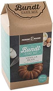Nordic Ware Vanilla Bean Bundt Cake Mix
