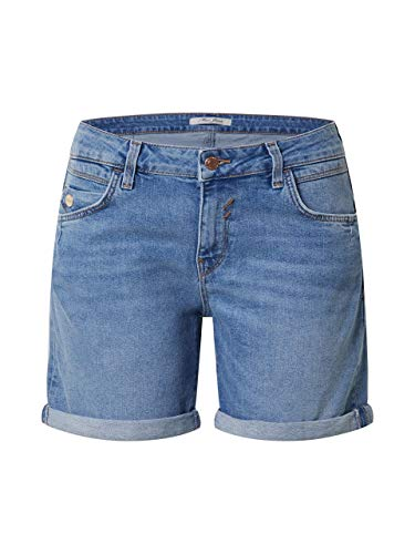 Mavi Damen Pixie Shorts, mid Brushed Milan STR, 26