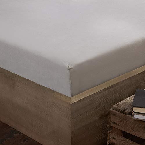 Silentnight hoeslaken, grijs, eenpersoonsbed