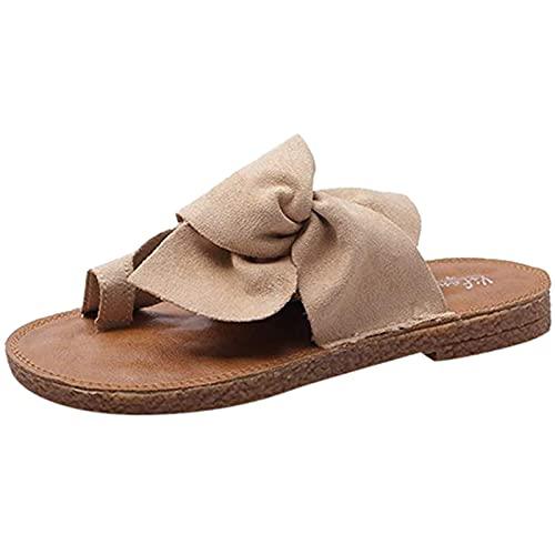 Sandalias para mujer con plataforma, cómodas sandalias informales para la playa