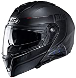 HJC i90 Modular Motorcycle Helmet With Sena 10B Bluetooth Headset Davan MC5SF X-Large