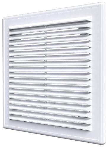 Air Vent Cover with Built-in Pest Guard Screen, HVAC Vent Duct Cover, Vent Cap Plastic