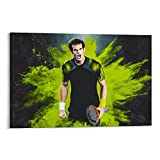 lvcha Andy Murray Poster, dekoratives Gemälde, Leinwand,