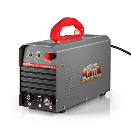 MAUK Plasmaschneider Plasmabrenner CUT-40 Inverter Cutter 12mm Schneidegerät Metallschneider 20-40 A