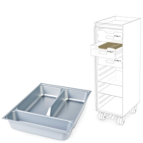Bordbar Besteckeinsatz für Schubkasten Trolley und Box