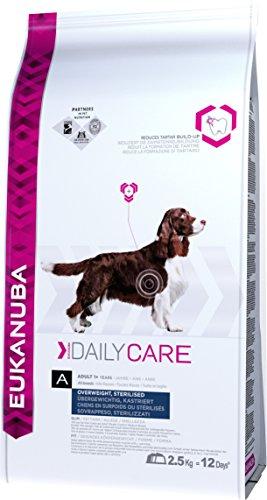 Eukanuba Daily Care Alimento Secco per Cani Adulti in Sovrappeso e Sterilizzati, 2,3 kg