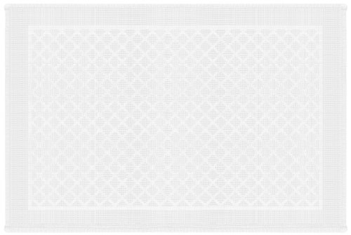 Gelco Design 707091 Tapis de Bain Rivoli Blanc 60 x 90 cm