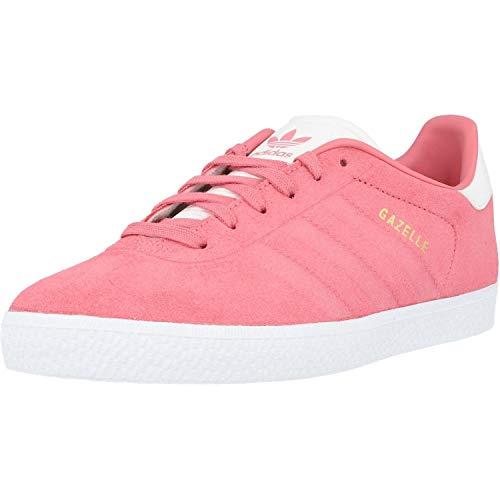 adidas Gazelle J, Scarpe da Fitness Unisex-Adulto, Rosa (Rostiz/Rostiz/Ftwbla 000), 37 1/3 EU