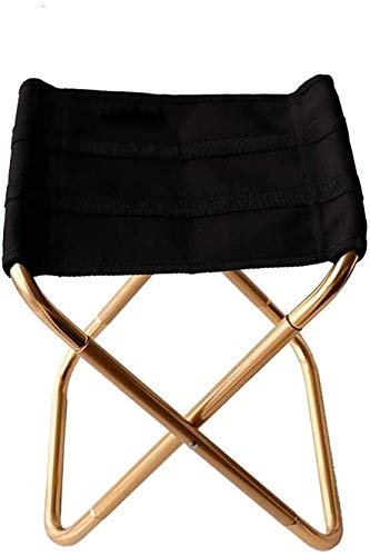 Bequeme Liegestuhl, Camping-Stuhl, Außen Klappstuhl Ultra Tragbare Oxford Cloth Aluminium Hocker Camping Picknick Reise hfhdqp