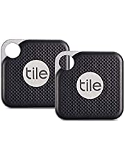 Tile RT-15002-EU Pro with Replaceable Battery, Jet Black/Graphite (Pack of 2)