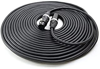XLR Cable 50 Ft - Reliable, High Performance from Vitrius Cables - 3-pin Connectors, Male to Female