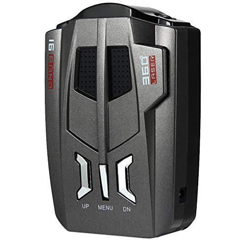 Tifanyyg V9 Auto Geschwindigkeitsdetektor Auto Speed-Detektor-Prüfvorrichtung Gerät Auto Geschwindigkeit Gerät Akustischer Alarm Warnung Auto LKW Fahrzeug
