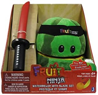 Jazwares – peljaz005 – pluche – Fruit Ninja – watermeloen