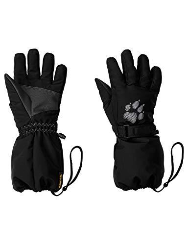 Jack Wolfskin Kinder Texapore Glove Kids Handschuhe, Black, 116